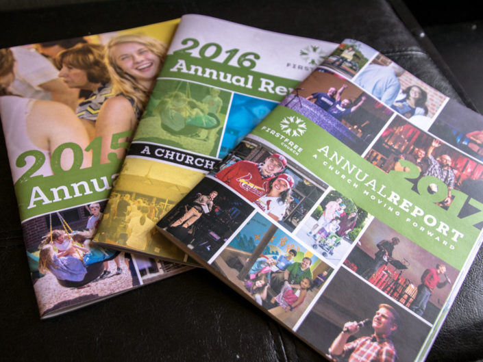First Free Church Annual Reports