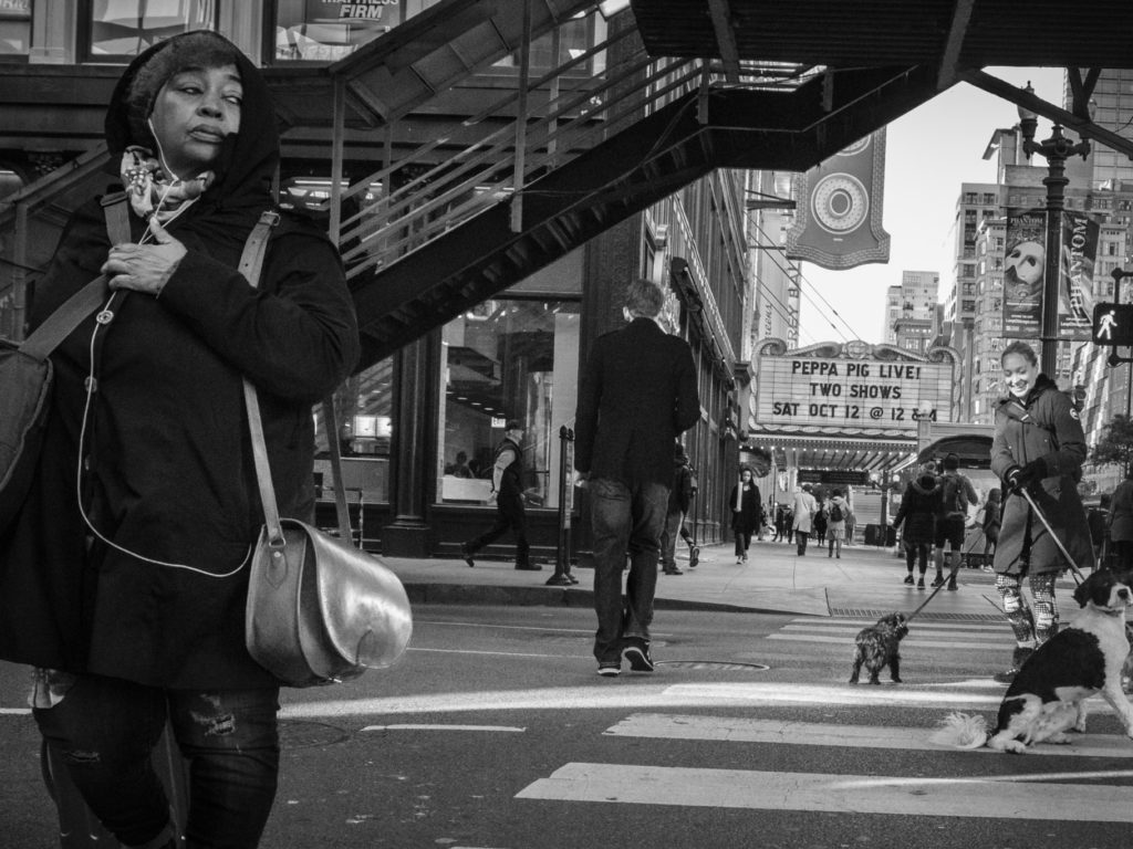Chicago - Street Photography BW